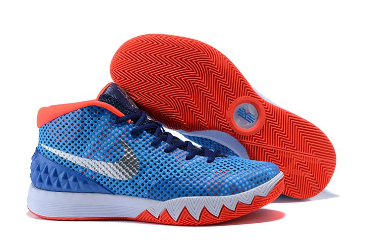 7b2017d16f33 Nike Kyrie 1 USA Blue Red-White For Sale