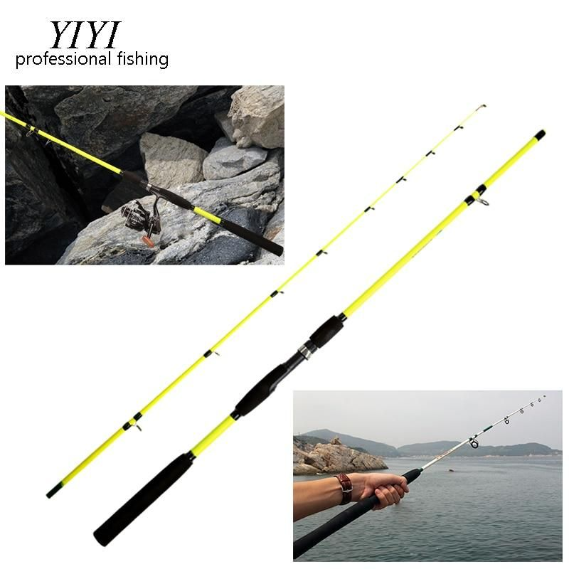 ALLBLUE Viking Spinning Rod 2 Tips 1.68m Ultralight 2-8LB Carbon Fishing Rod