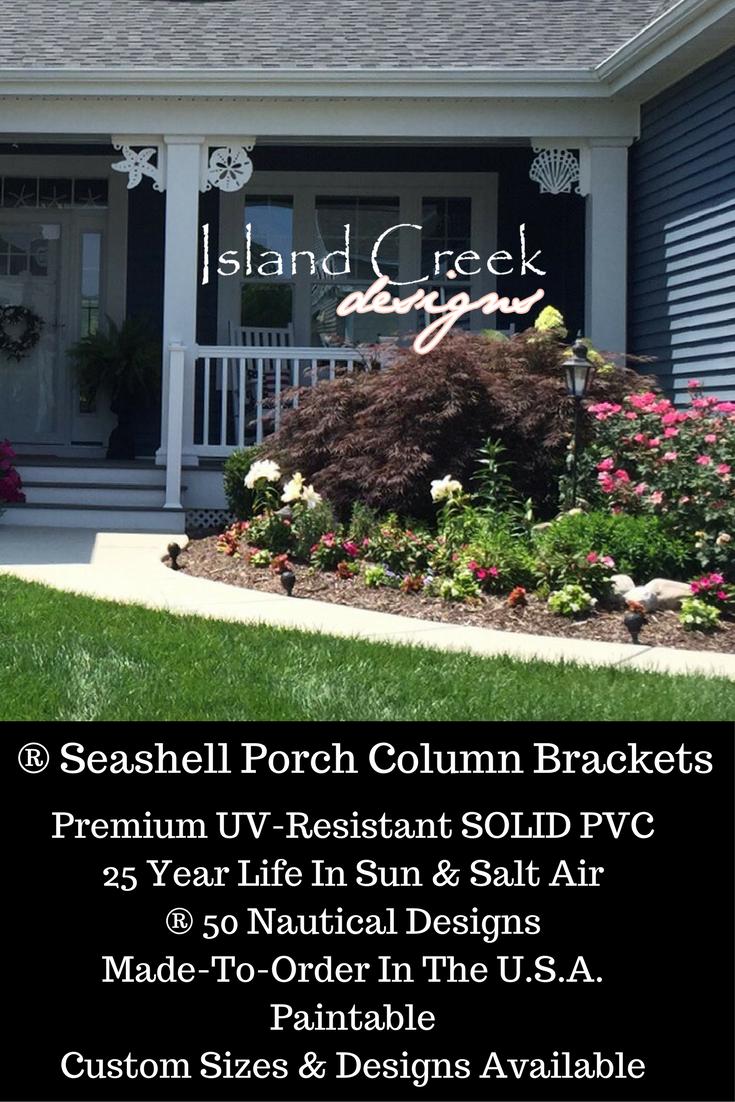 Nautical Decorative Front Porch Bracket for Columns & Corner Posts ...