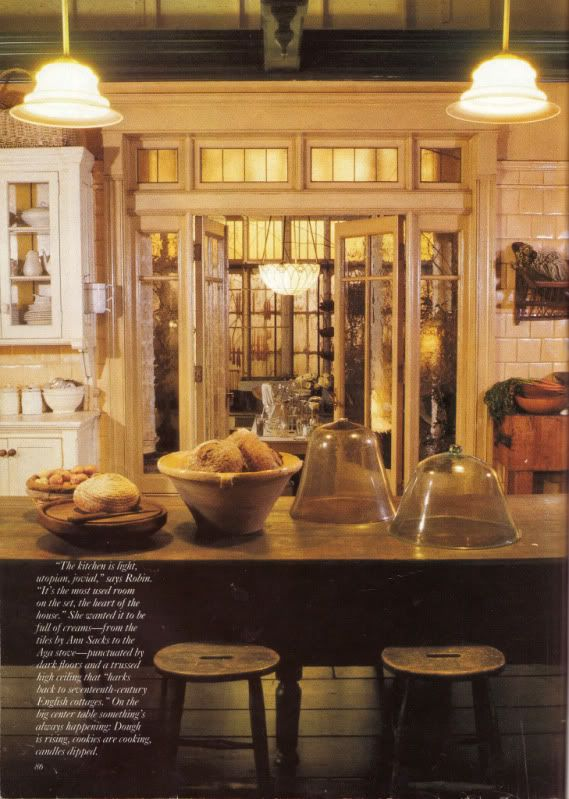 Practical Magic Victoria Magazine  Kitchen