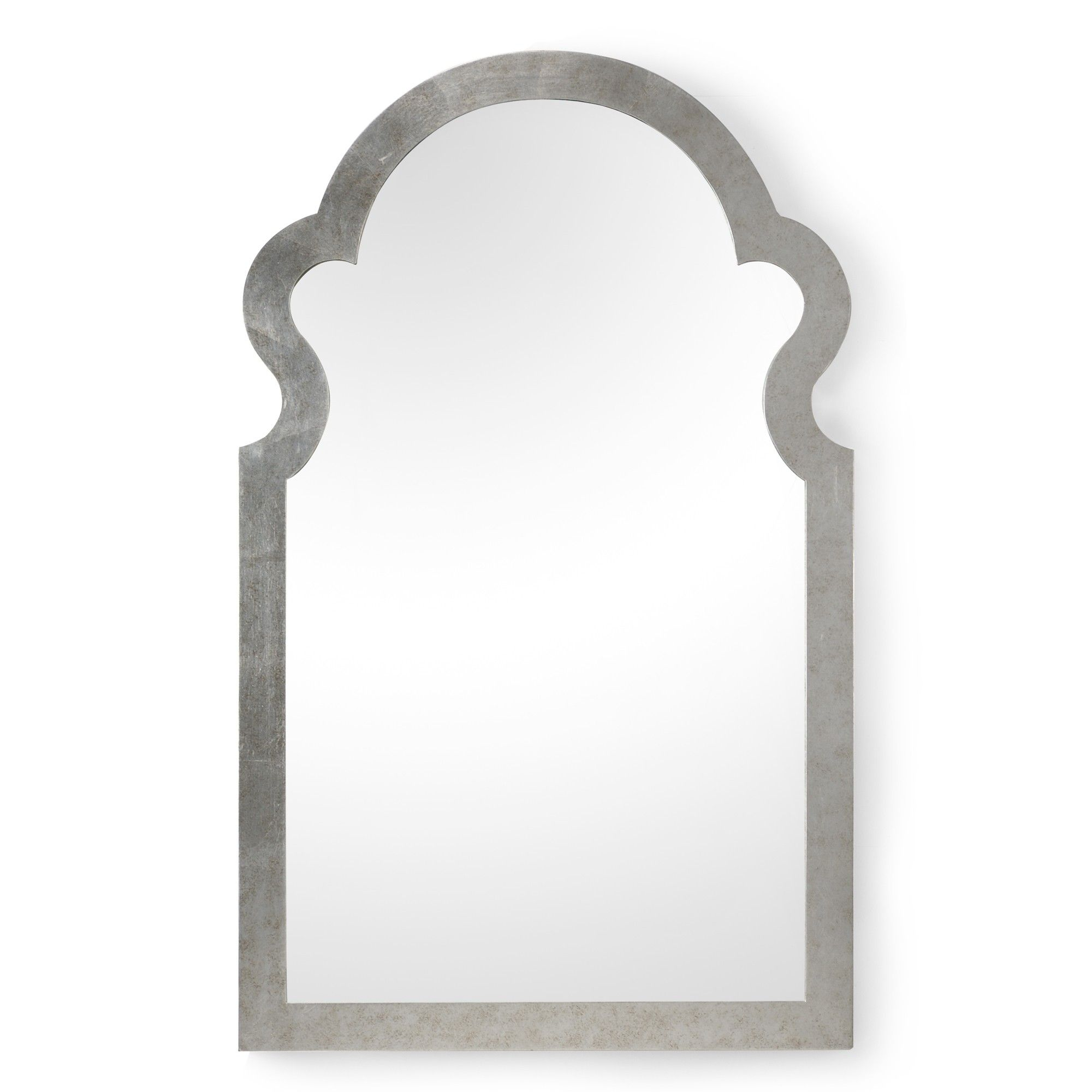 Candelabra Home Jagger Mirror  Silver is part of Silver Home Accents Guest Rooms -