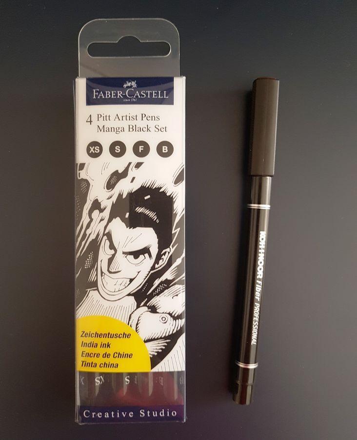 faber castell pitt artist pen black