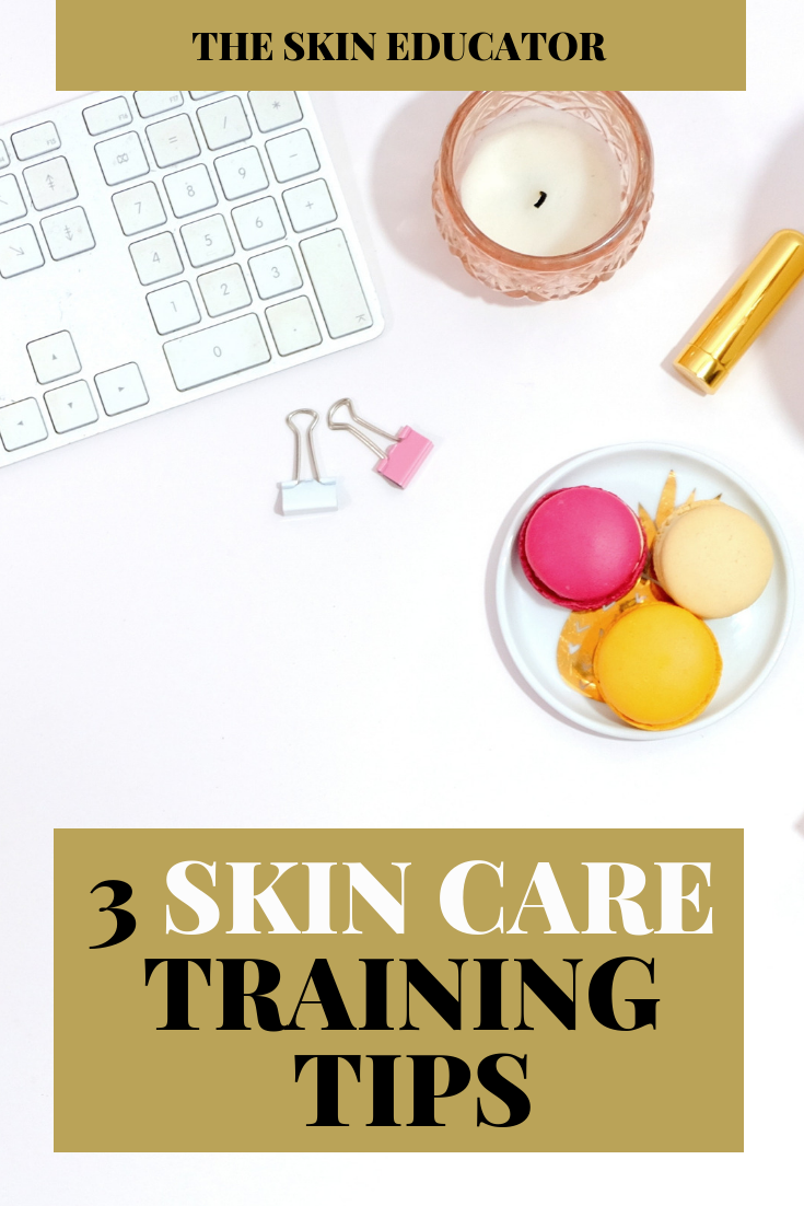 Skincare Training Tips Skin Care Skin Care Specialist Best Nursing Schools