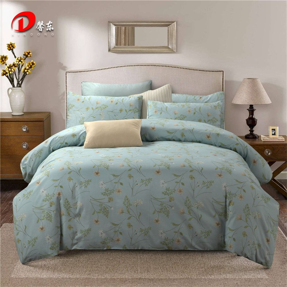 Plant Bedding King Size Bed Sheet Sets Queen Bedding Potted Plant Printed Duvet Cover Set Cotton Bedding S Bed Sheet Sets Queen Bed Sheets King Size Bed Sheets
