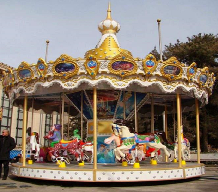 Antique Carousel For Sale In 2020 Carousel Train Rides Park
