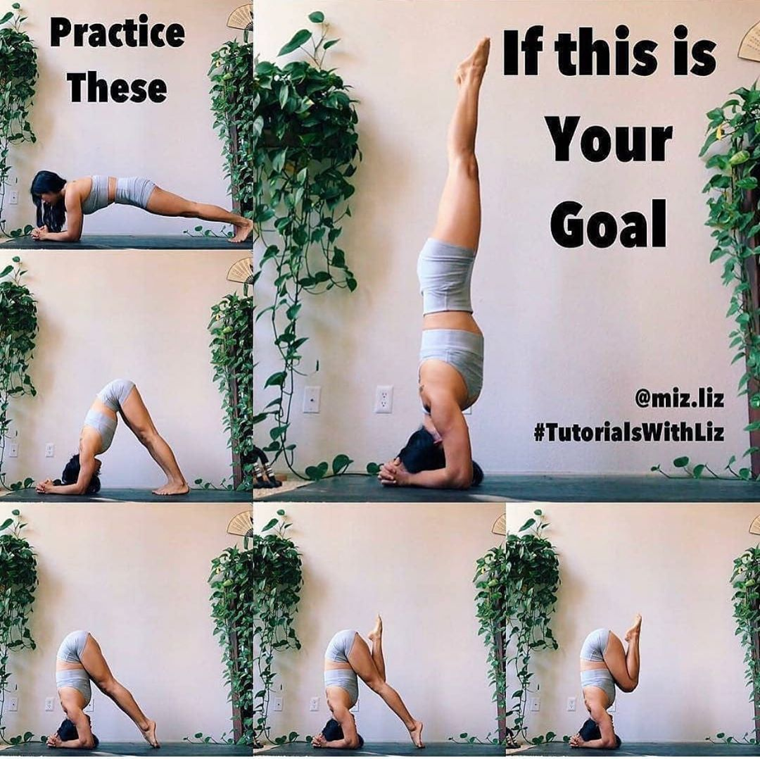 Yoga Daily Progress On Instagram Follow Weshanti How To Headstand Poses To Practice To Headstand Tutorial Headstand Yoga Beginner Headstand