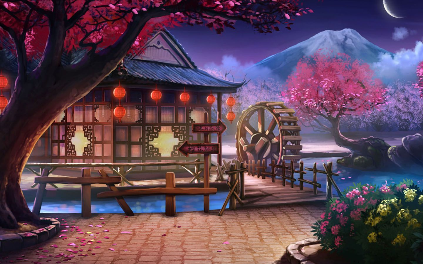 Anime Unknown Landscape Wallpaper Landscapewallpaper Landscape Wallpaper Anime Places Anime Backgrounds Wallpapers