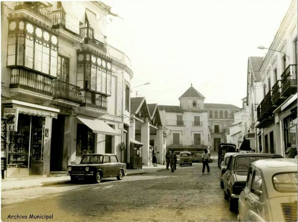 Velez-Malaga old picture. Close to old Market