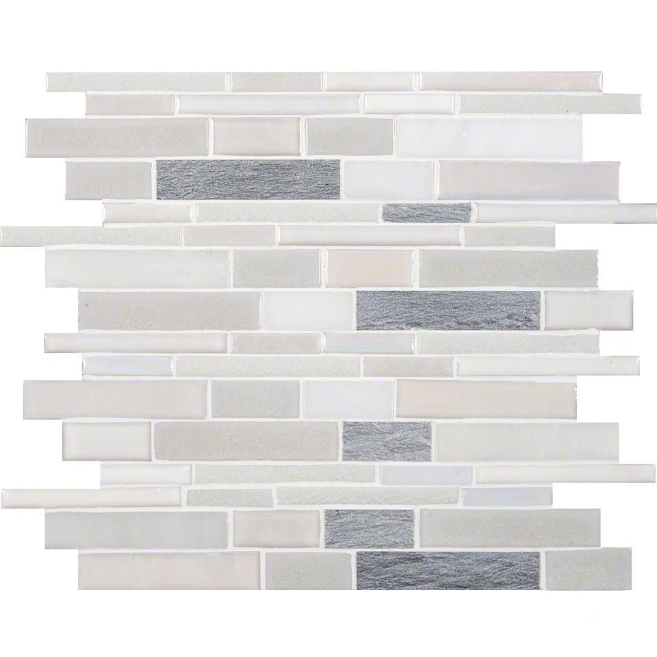 Ms International Champagne Toast Interlocking Backsplash