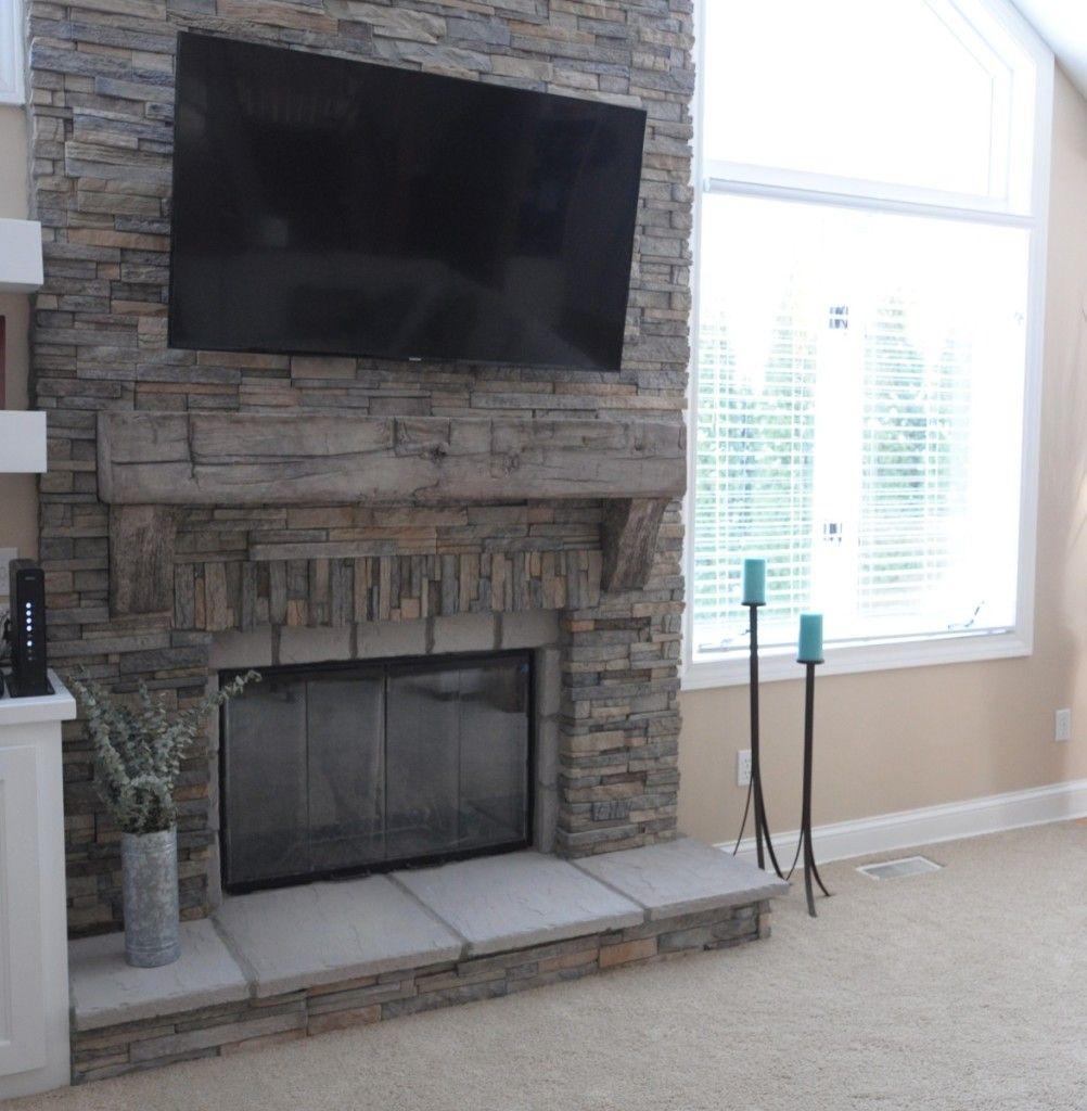 Jun stone inc stackease living room fireplace pinterest