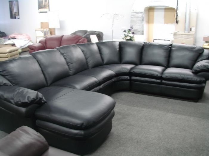 Superbe Contemporary Leather Sofas For Sale