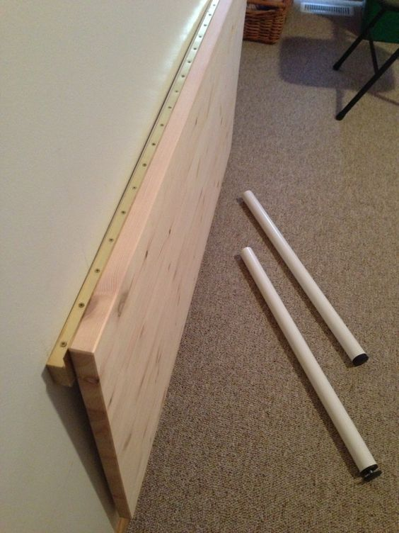 How To Make A Wall Hung Gate Leg Table Build Mounted Fold Down Desk