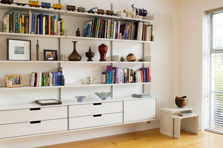 Living Room Shelving And Storage