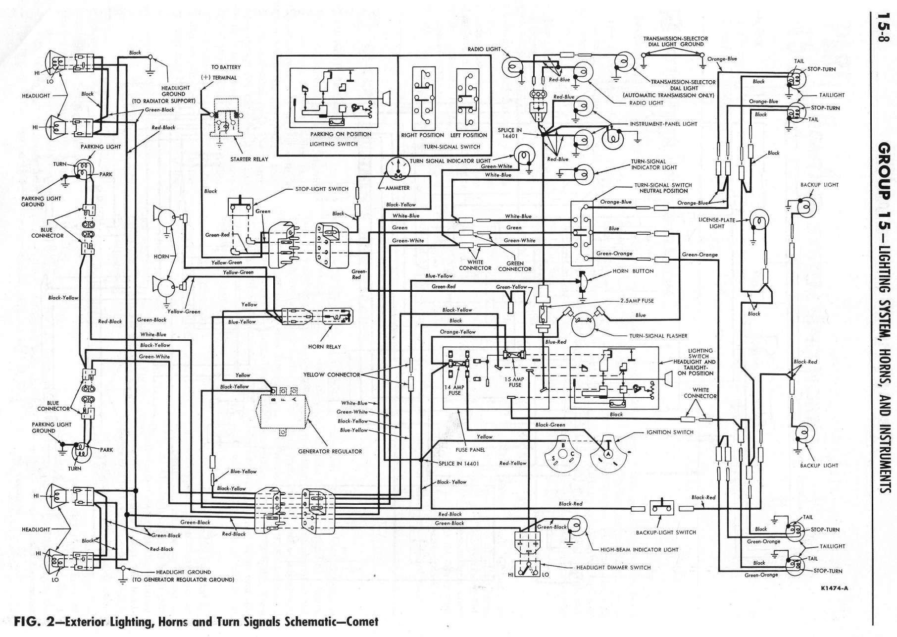 1966 Chevelle Wiring Diagram For Steering Colum