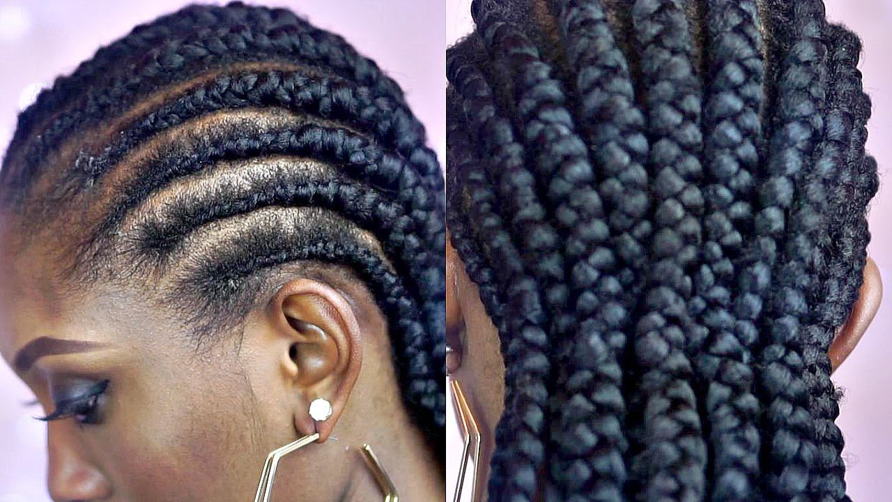 short hair cornrow styles tutorial how to braid big cornrows on hair 9733 | 5339018877daaaa4adcd5a7eb88c8635