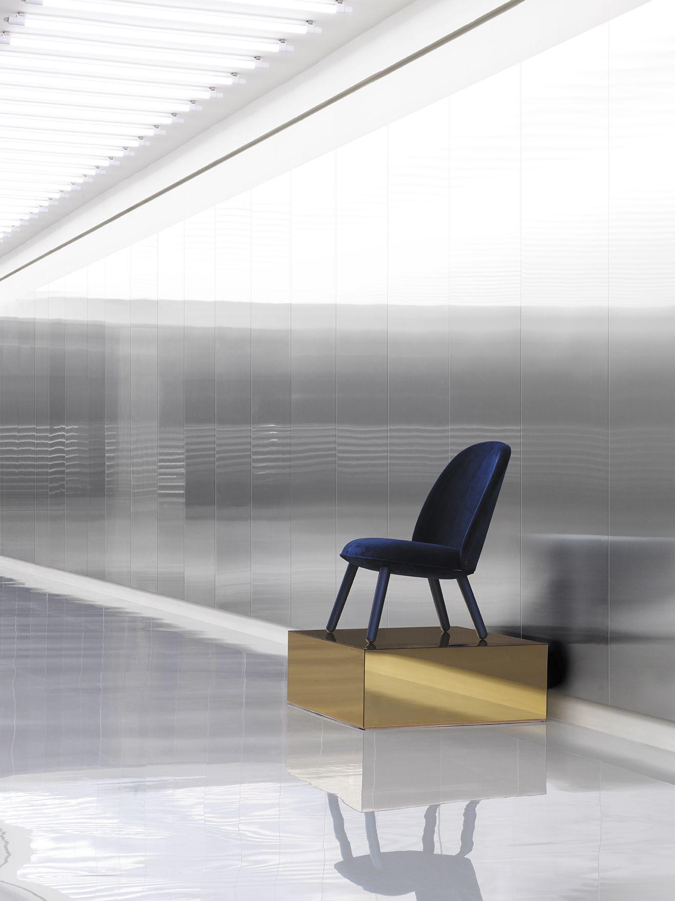Ace Lounge Chair displayed in the Normann Copenhagen showroom in Copenhagen http://decdesignecasa.blogspot.it