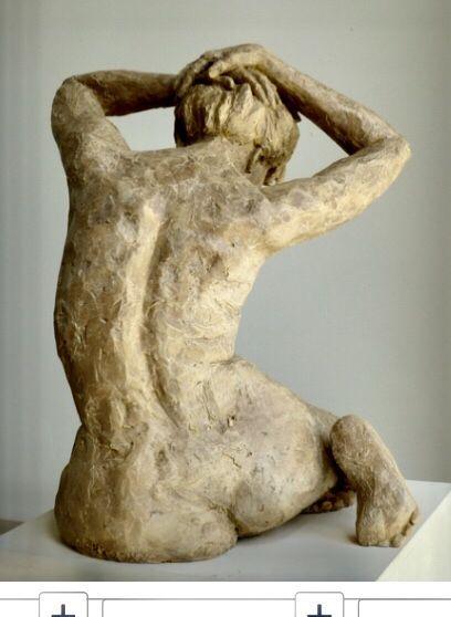 Ceramic sculpture. Sculpture en céramique