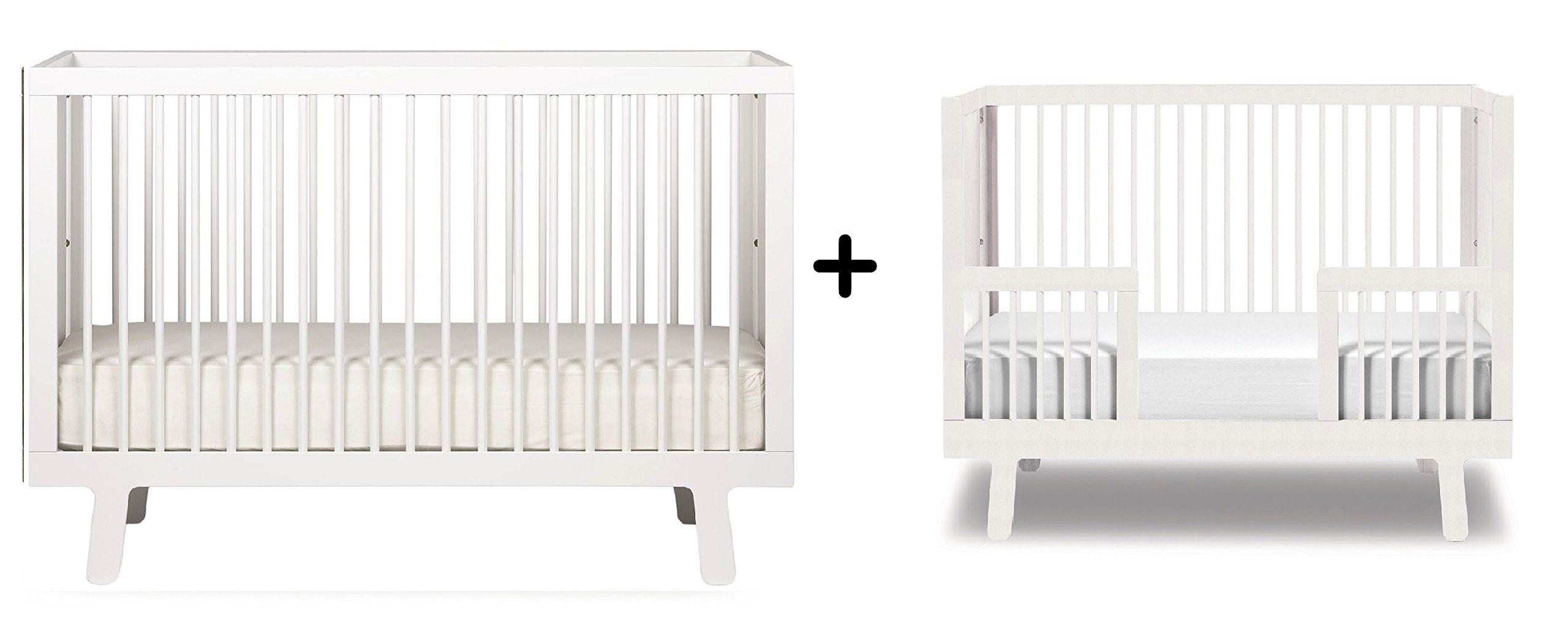 Baby cribs europe - Oeuf Sparrow Crib White Oeuf Sparrow Conversion Kit For 4spcr Sparrow Cribs White