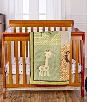Dream On Me Reversible Portable Crib Set Safari Animals Neonato Fatto A Mano Tutorial
