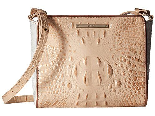 Brahmin Womens Carrie Crossbody Apricot One Size *** You can get more details by clicking on the image. (This is an affiliate link)