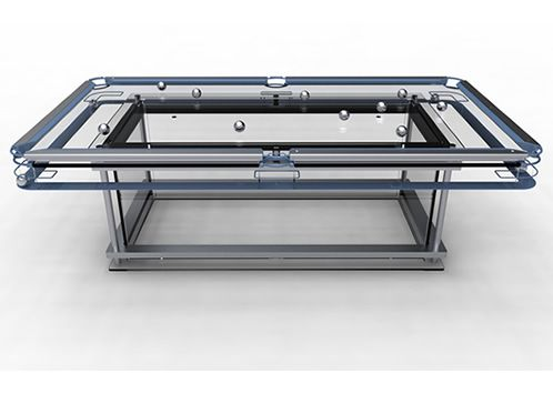 Nottage Design   Pool Tables   G 7 Glass Top Top Pool Table