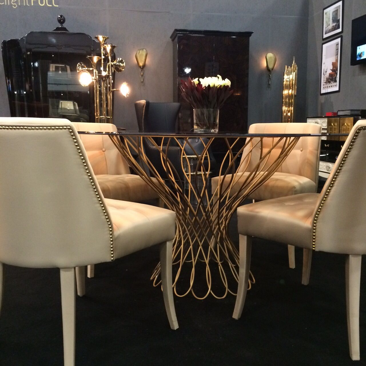 We are now at maison u objet americas ready to receive you at