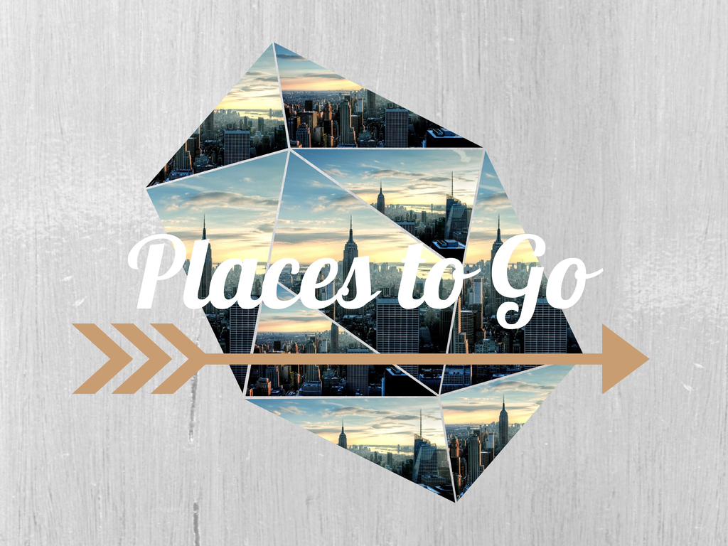 Places to Go - World Tour - New Segment in Blog. For 12 weeks I'm going on an online World Tour. 12 Cities in 12 weeks. Read More... and Follow please ❤