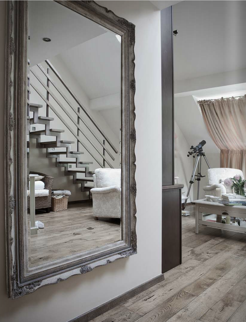 Muted And Beautiful A Lovely House Tour Paperblog Mirror Wall Bedroom Mirror Dining Room Mirror Wall Living Room