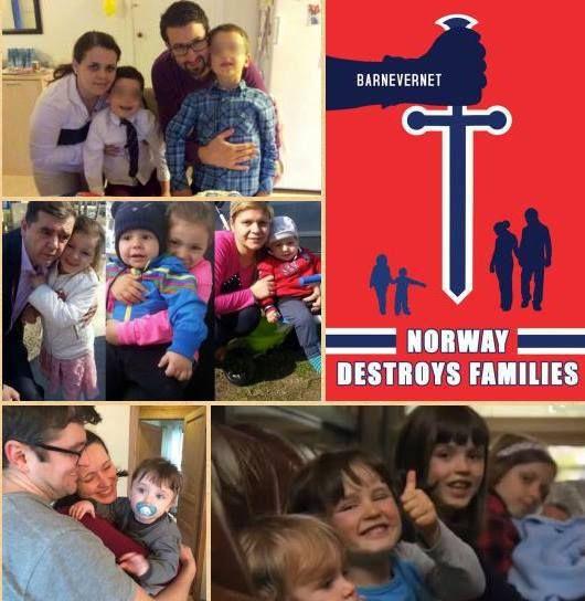 Redati copii inapoi- Familia Avramescu, Bodnariu si Nan. Norvegia FOTO AGNUS DEI