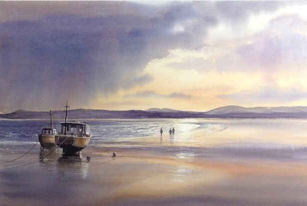 454217994 Terry Harrison - After the Storm. From Sea and Sky in Watercolour ...