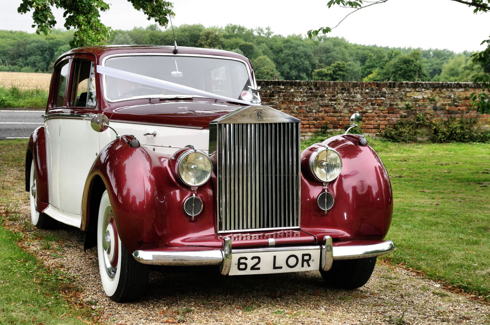 This Rolls Royce was the first car produced after world war II and ...