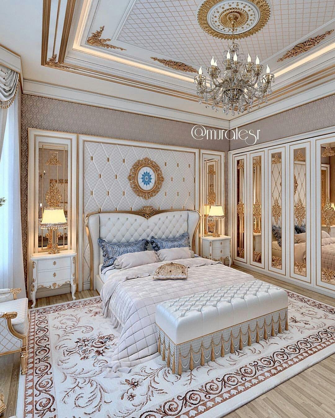 Luxury Bed Room: Pin By زوبعة في فنجان On غرف نوم