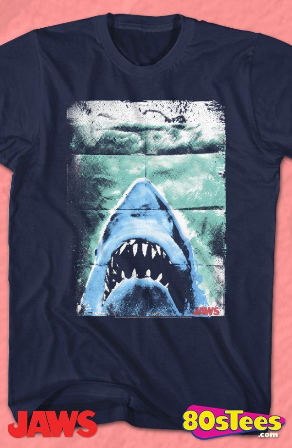 Jaws Movie Poster, Camiseta para Hombre