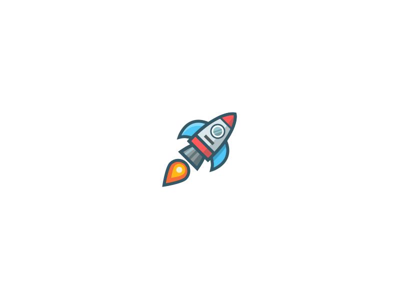 Rocket Icon by Martin David