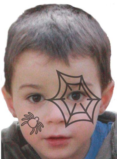 maquillage halloween tuto maquillage enfant loisirs cr atifs maquillage enfant pinterest. Black Bedroom Furniture Sets. Home Design Ideas