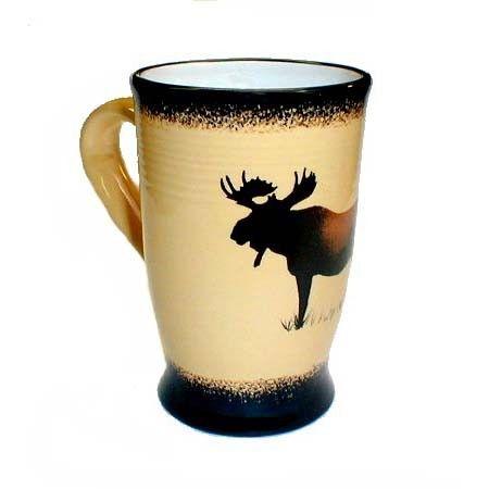 Brushwerks Moose Mug - Montana Gift Corral  sc 1 st  Pinterest & Brushwerks Moose Mug - Montana Gift Corral | Dishes | Pinterest | Moose