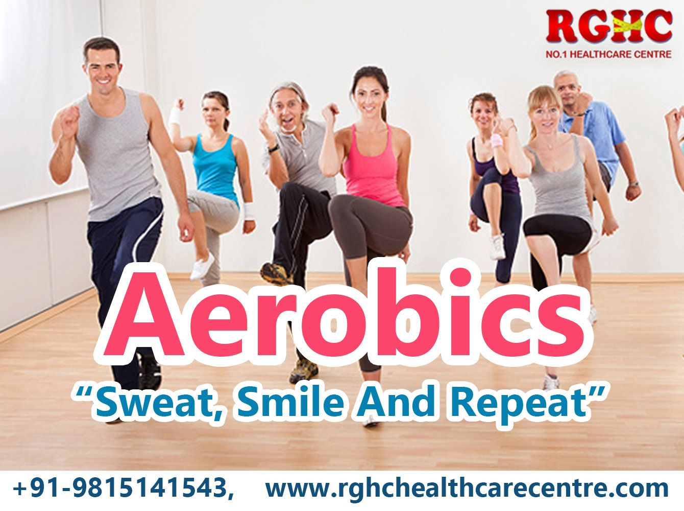 Best step aerobics excercise classes for kids in ludhiana