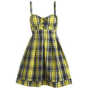 Plaid Tank Dress - Teen Clothing by Wet Seal