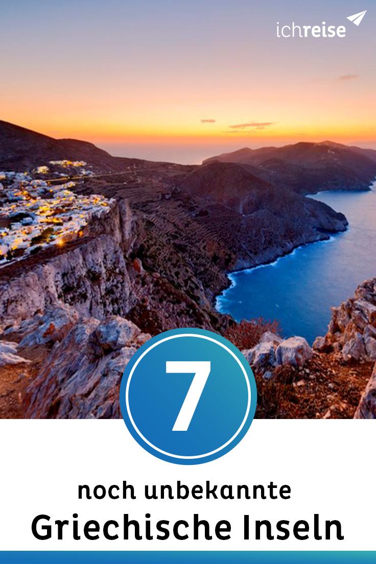 7 griechische Inseln, die du bestimmt noch nicht kennst #traveltogreece