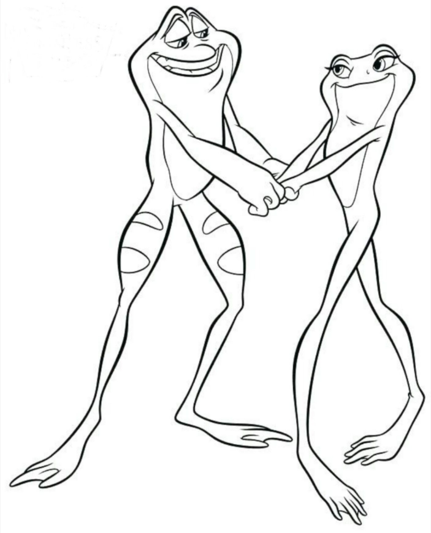 Pin by Kayla MendezK on coloring | Frog coloring pages ...