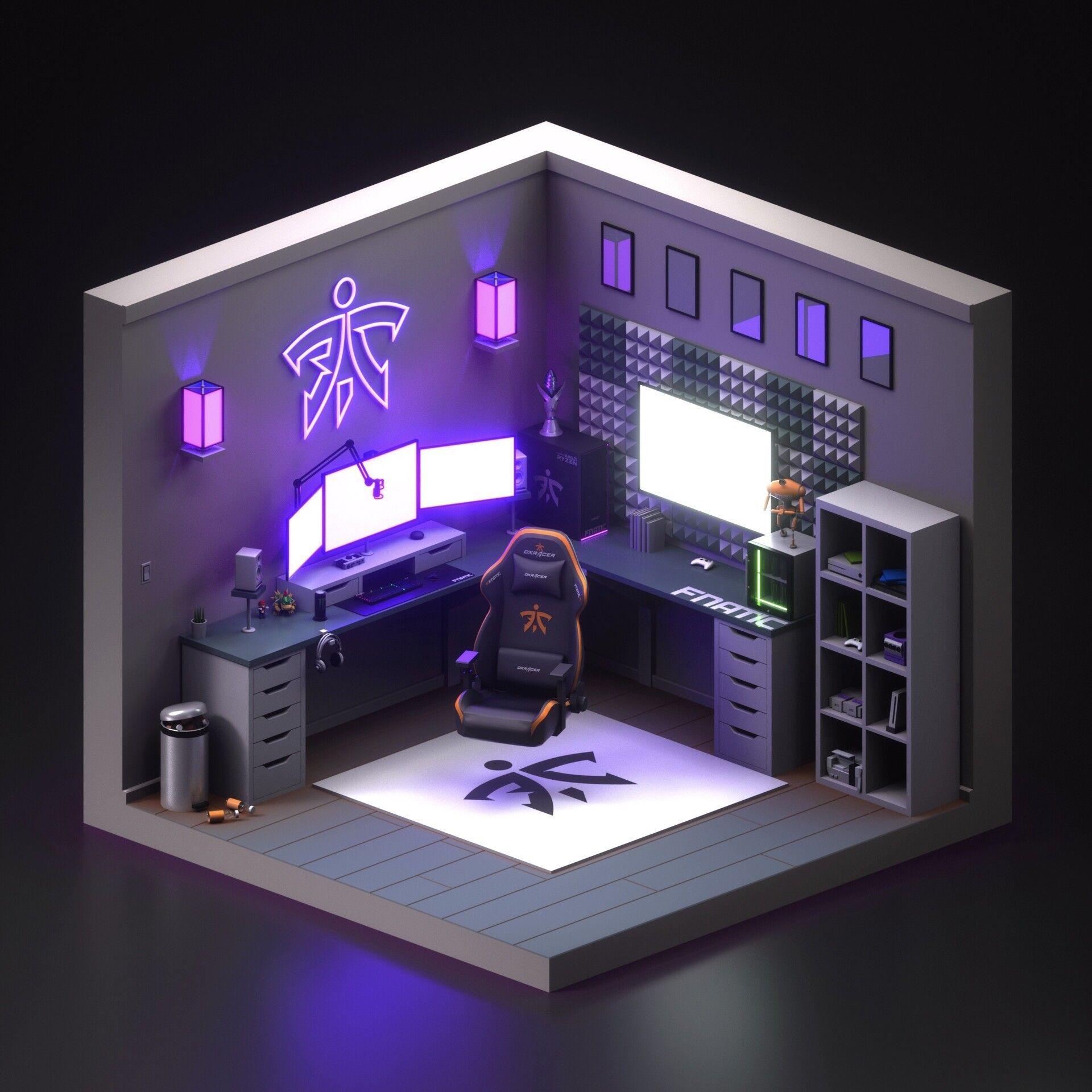 17 Amazing Video Gaming Setup Ideas Ikea Desk Hacks Decor Design De Sala De Jogo Ideias Para Sala De Jogos Salas De Videogame