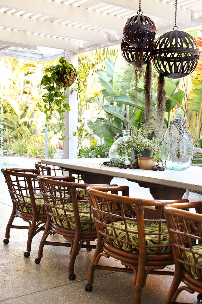 Bohemian Bliss Is What This Gold Coast Home Is All About Queensland Homes Magazine Outdoor Furniture Australia House And Home Magazine Outdoor Rooms