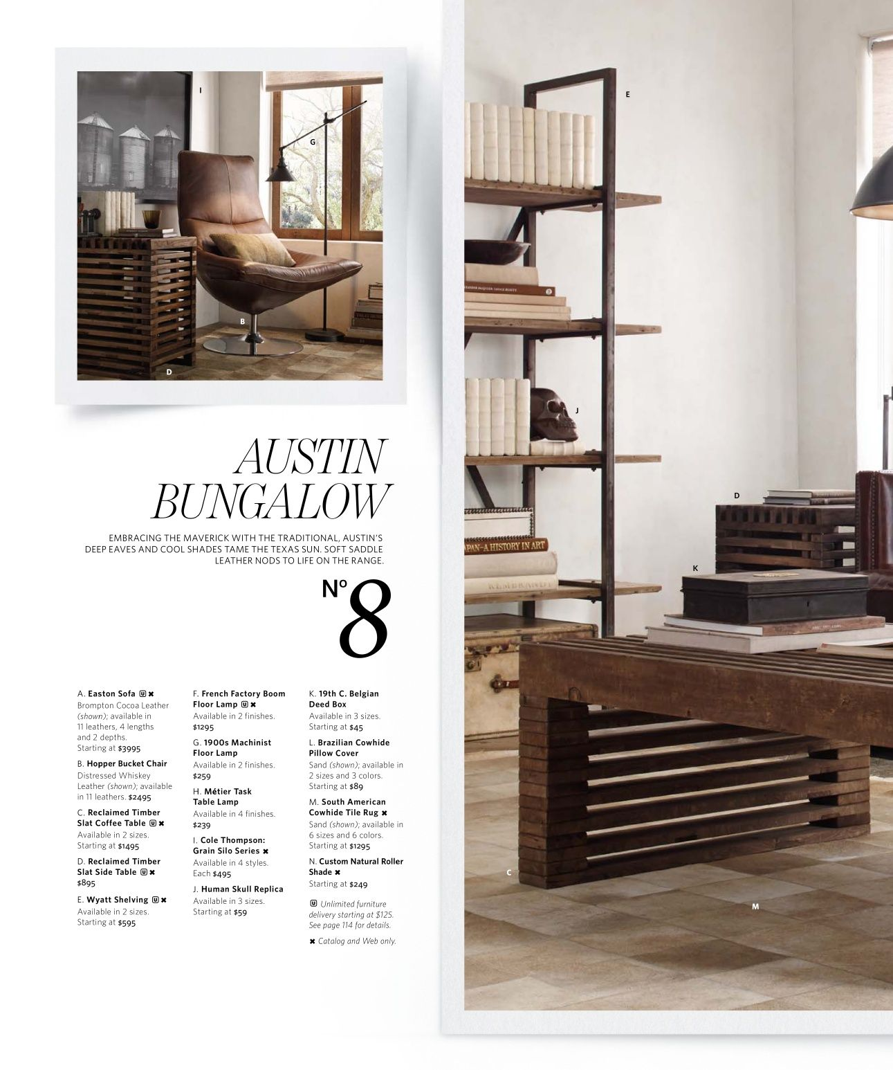 2013 Small Spaces Catalog | Restoration Hardware | House ...