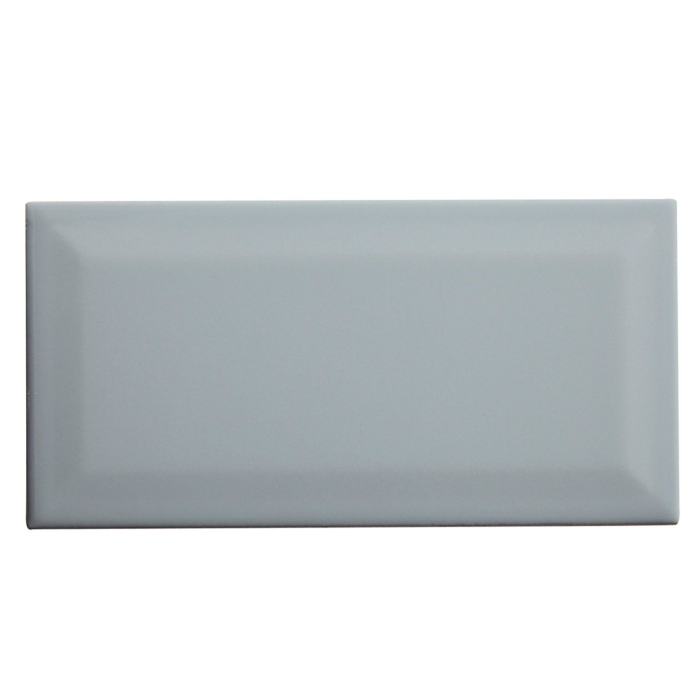 Trentie Grey Gloss Ceramic Wall Tile Pack Of 40 L 200mm