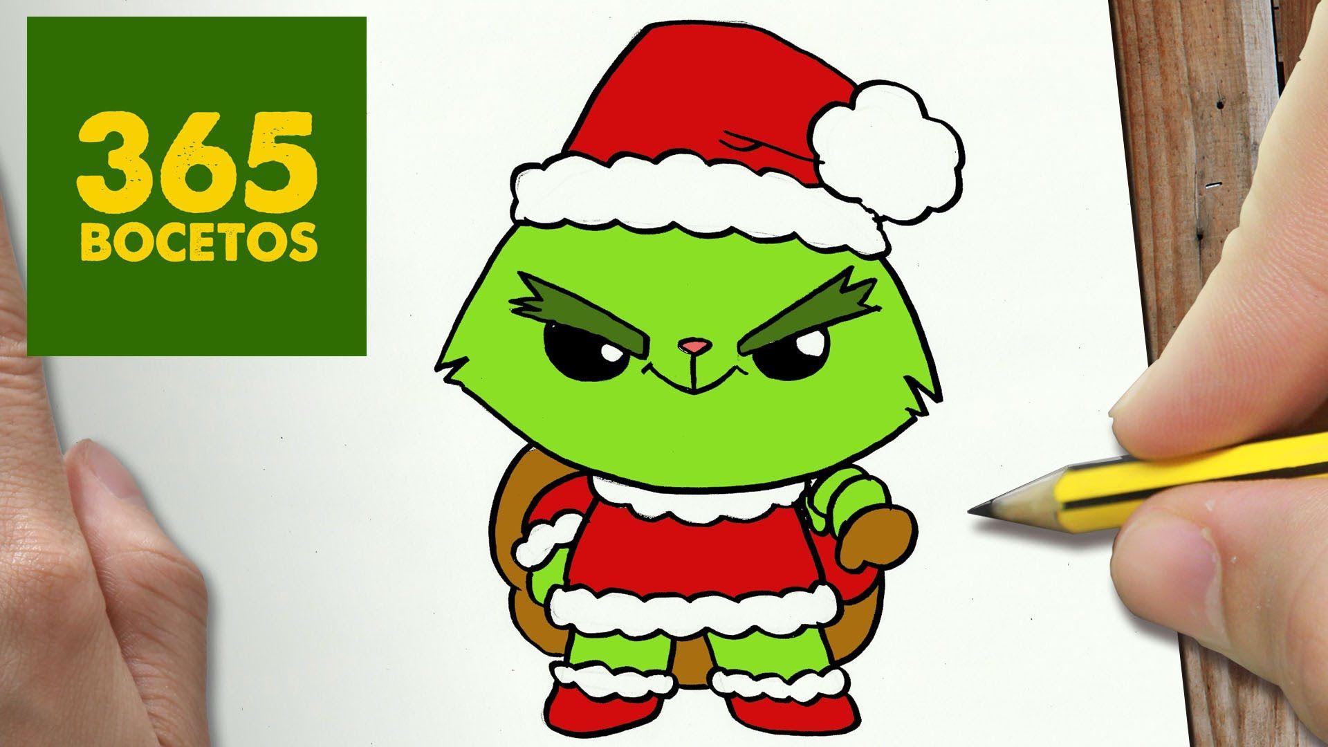 Resultado De Imagen Para Dibujos De Navidad A Color Kawaii Dibujos