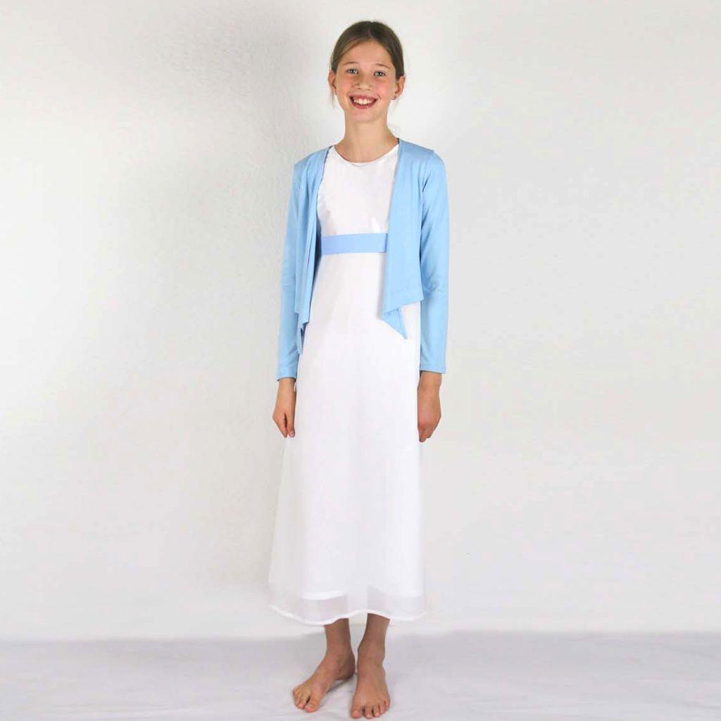Kommunionjäckchen in blau | Kommunion kleider, Modestil ...