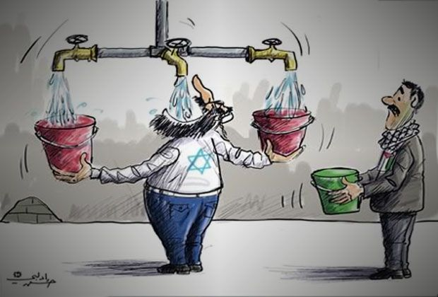 Image result for israel steals water from palestine