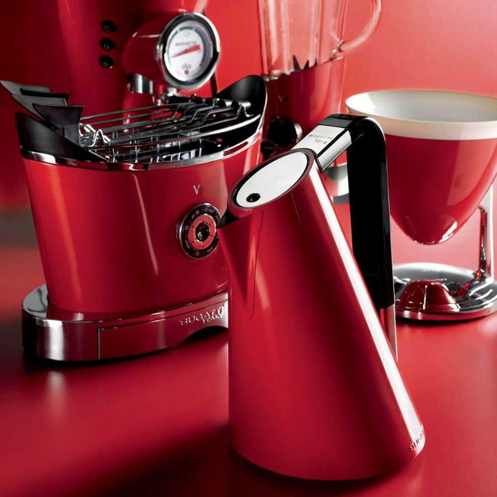 Bugatti Red Kitchen Appliances | Design | Pinterest | Red kitchen ...