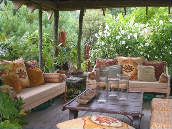 Sitting Area In The Garden Ideas Garden Design Outdoor Living