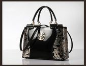 Luxury Women Embroidery ping Handbag Designer Crossbody Patent Leather Tote Bag bag